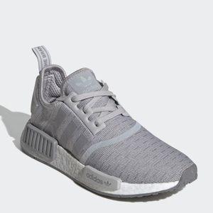 LIKE NEW NMD R1 adidas grey size 5.